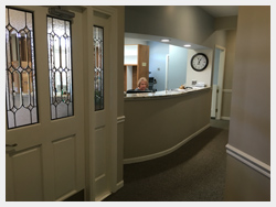 Athens Periodontist_Implants_F Neal Pylant_Front Desk